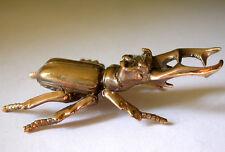 Solid Bronze Beetle Miniature by Sergey Olifirenko