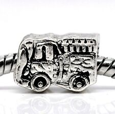 Fire Engine Hook & Ladder Truck Firefighter Bead fits European Charm Bracelets