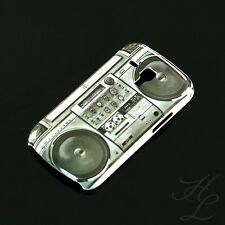 Samsung Galaxy S Duos / S7562 Hard Case Hülle Cover Motiv Etui Ghetto Blaster
