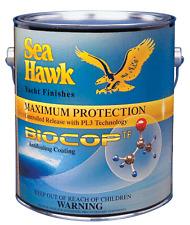 Sea Hawk Biocop TF Antifouling Paint, Gallon Black