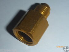 """1/4"""" Male to 5/16"""" Female Hose Adapter Fitting For R410a Manifold Gauges"""