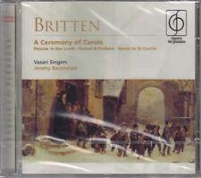 Britten / Vasari Singers - Ceremony of Carols Op.28 - Jeremy Backhouse (NEU!)