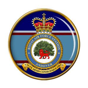RAF Station Andover Pin Badge