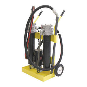 PARKER 10MFP240SA10QB16151 Hydraulic Oil Filter Cart,500 SUS,10 gpm