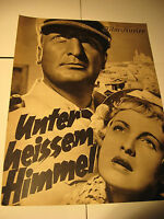 Hans Albers in heissen Himmel-IFK Nr.2581 aus den 30.40.Jahren, film program