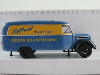 """Busch 51807 Robur Garant K 30 Kasten """"Deutsche Lufthansa Ost"""" 1:87/H0 NEU/OVP"""