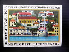 GRENADA Wholesale 1986 Methodist Church $5 M/Sheet x 50 SALE PRICE FP1089