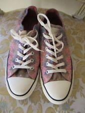 CONVERSE All Star MISSONI Multi Color Sparkle Fabric Sneakers Shoes Size Men's 7