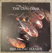 """Gun Club BREAKING HANDS EP 12"""" Promo Lp Vinyl Cramps, Blasters, Zeros.."""