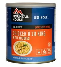 1 - Can - Chicken a la King - Mountain House Freeze Dried Emergency Food Supply