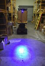 20W blue Forklift warning light spotlight working lamp light convex lens LED