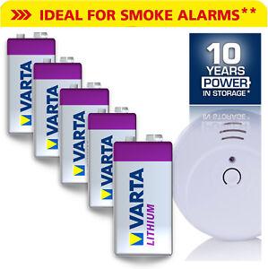 Varta 9V-Block Rauchmelder - Batterien - Lithium Auswahl 9 V E Block