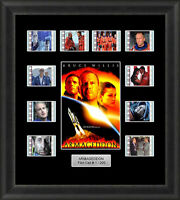 Armageddon Framed 35mm Film Cell Memorabilia Filmcells Movie Cell Presentation
