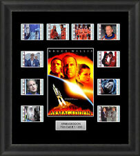 Backlight Armageddon Framed 35mm Film Cell Memorabilia Filmcells Backlit