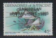 A4436: St Vincent Grenadines #504 Double Overprint ERROR