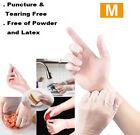 10-2000 pcs Vinyl Gloves,Clear, Powder-Free,Latex-Free,Food Safe,Home,S,M,L Size