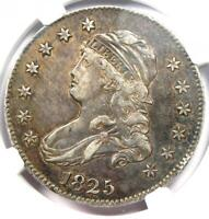 1825 Capped Bust Quarter 25C - NGC XF Details (EF) - Rare Coin - Scarce Date!