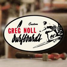 """Greg Noll Surfboards sticker decal hot rod surf surfing Maui Hawaii 5"""""""