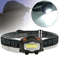 3 modes étanche COB LED lampe frontale phare lampe frontale lampe de pêche de