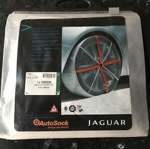 """AutoSock - 2 x Snow Socks For 19/20"""" Wheels For Jaguar Cars!"""
