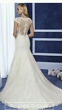 BARGAIN!!!!!!BRAND NEW Ronald joyce Elena wedding dress 10