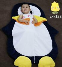 Xmas Penguin Sleeping Bags Camping Adventure Animal Warm Swaddle Kid Pillow Gift