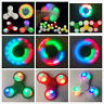 Fashion Spinner Fidget LED Ceramic Hand Finger Spinner Desk Office Gift Kid Toy