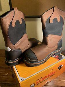 Herman Survivors Professional Series Harrington Men's Steel Toe Boot - Size 8