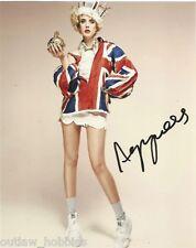 Agyness Deyn Autographed Signed 8x10 Photo COA B