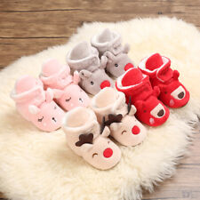 Christmas GIFT Baby Boy Girl Warm Shoes Winter Boots Toddler Comfortable Booties