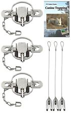 (3 Pack) Duke #2 Coilspring Offset Value Package with Dvd and Cable Stakes