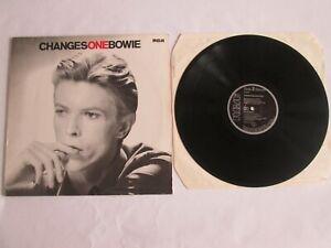 David Bowie Changesonebowie German vinyl LP album PL81732 RCA 1983, NEAR MINT