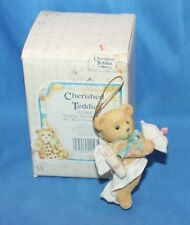 Cherished Teddies Sending You My Heart Figurine # 103608 1994 By Enesco