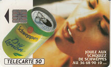 France télécarte 50 Schweppes