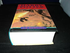 Harry Potter and the goblet of fire by J. K. Rowling Bloomsbury 10th Print VG