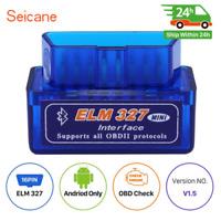ELM327 V2.1 Auto Mini Bluetooth Obd2 Diagnostic Code Scanner Tool Fit Android