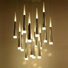 Modern Aluminum Acrylic 5W LED Meteor Hanging Chandelier Pendant Lamp Lighting