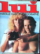 LUI N°218 (mars 1982) Mireille Darc photographe - Maisons roses de Tokyo-Poster