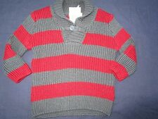 Baby Boys Pumpkin Patch stripe  Jumper Size 0 for 6-12mths