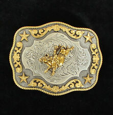 Nocona Belt Buckle Rodeo Bullrider Cowboy Country and Western