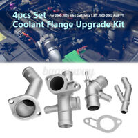 4pcs Aluminum Coolant Flange Upgrade Kit for VW MK4 Golf Jetta GLI GTI Audi  --