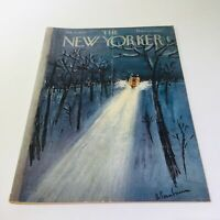The New Yorker: Jan 11 1958 - Full Magazine/Theme Cover Abe Birnbaum