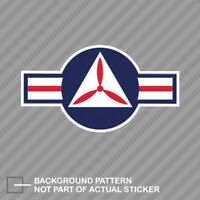 United States Air Force USAF Civil Air Patrol Roundel Sticker Decal Vinyl