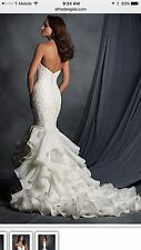 Alfred Angelo Wedding Dress Size 4