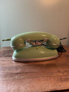 Pottery Barn Teen Grand Cordless Phone Touch Tone Mint Green