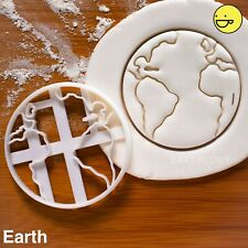 Earth cookie cutter | planet interstellar climate change galaxy biscuit