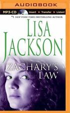 Zachary's Law by Lisa Jackson (2015, MP3 CD, Unabridged)