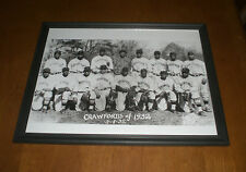 1932 Pittsburgh Crawfords Framed Team Print