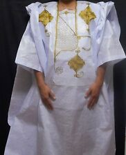 Grand bou bou African Mens pant set Dashiki Clothing 4Pcs Brocade Suit Plus size