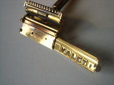 Rasoir de sûreté american safety shaver VALET golden Gilette gold